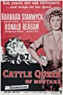 Cattle Queen of Montana (1954) Poster