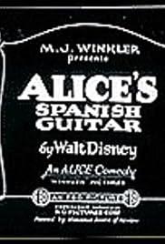 Alice's Spanish Guitar Poster