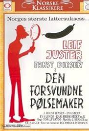 Den forsvundne pølsemaker Poster