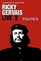 Image of Ricky Gervais Live 2: Politics