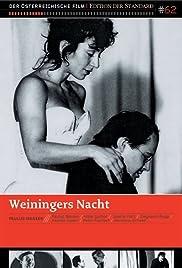 Weininger's Last Night Poster