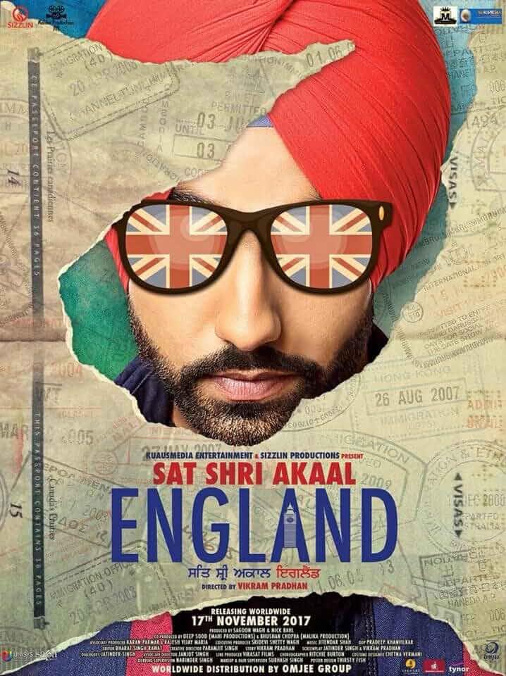 Sat Shri Akaal England 2017 Punjabi 480p PreDVDRip