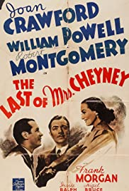 The Last of Mrs. Cheyney Poster