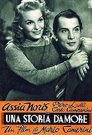 Una storia d'amore Poster