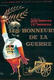 Les honneurs de la guerre Poster