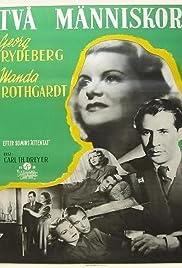Två människor(1945) Poster - Movie Forum, Cast, Reviews