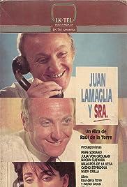 Juan Lamaglia y señora Poster