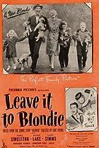 Image of Leave It to Blondie
