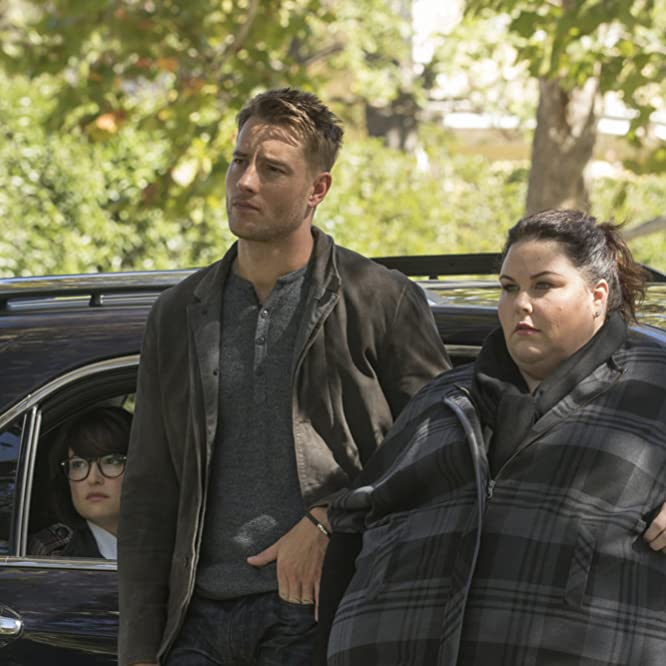 Justin Hartley, Chrissy Metz, and Milana Vayntrub in This Is Us (2016)