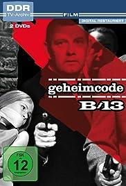 Geheimcode B 13 Poster