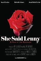 Image of She Said Lenny