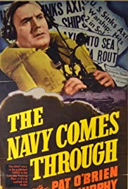 The Navy Comes Through Poster