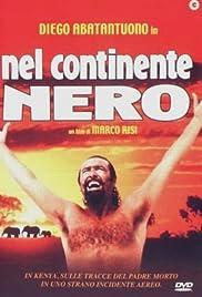 Nel continente nero Poster