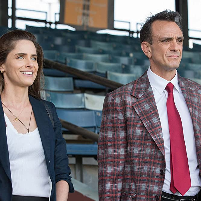 Hank Azaria and Amanda Peet in Brockmire (2017)
