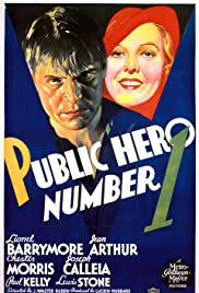 Public Hero Number 1 (1935) Poster - Movie Forum, Cast, Reviews