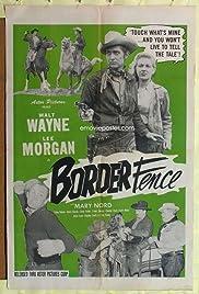 Border Fence Poster