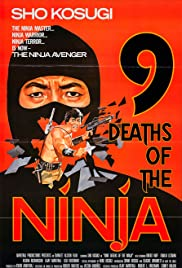 Nine Deaths of the Ninja (1985) Poster - Movie Forum, Cast, Reviews