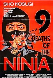 Nine Deaths of the Ninja Poster