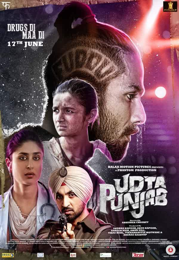 Udta Punjab 2016 Full Hindi Movie Download 480p ESub BluRay 400MB
