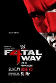 WWE Fatal 4-Way Poster