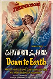 Down to Earth (1947) Poster - Movie Forum, Cast, Reviews