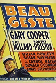 Beau Geste(1939) Poster - Movie Forum, Cast, Reviews