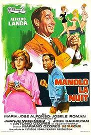 Manolo, la nuit Poster