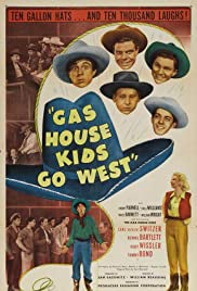Gas House Kids Go West Poster