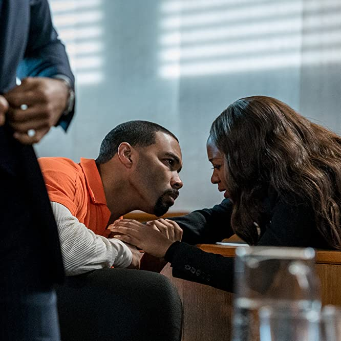 Omari Hardwick, Naturi Naughton, and Brandon Victor Dixon in Power (2014)