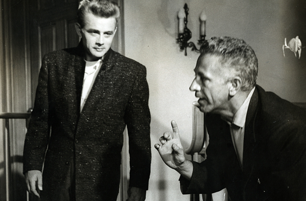 Image result for rebel without a cause natalie wood and nicholas ray