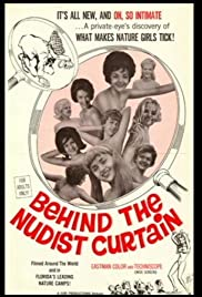 Behind the Nudist Curtain Poster