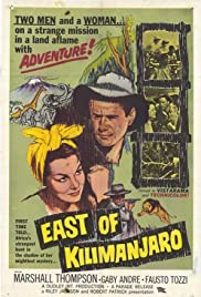 East of Kilimanjaro Poster