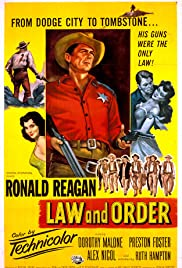 Law and Order (1953) Poster - Movie Forum, Cast, Reviews