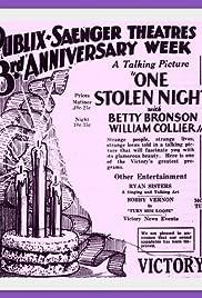 One Stolen Night Poster