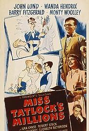 Miss Tatlock's Millions(1948) Poster - Movie Forum, Cast, Reviews