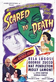 Scared to Death (1947) Poster - Movie Forum, Cast, Reviews