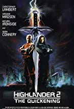 Primary image for Highlander II: The Quickening