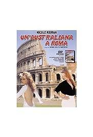 Un'australiana a Roma Poster