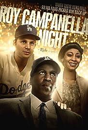 Roy Campanella Night Poster
