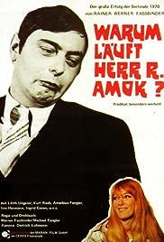 Warum läuft Herr R. Amok(1970) Poster - Movie Forum, Cast, Reviews