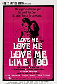Love Me Like I Do Poster