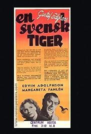 En svensk tiger Poster