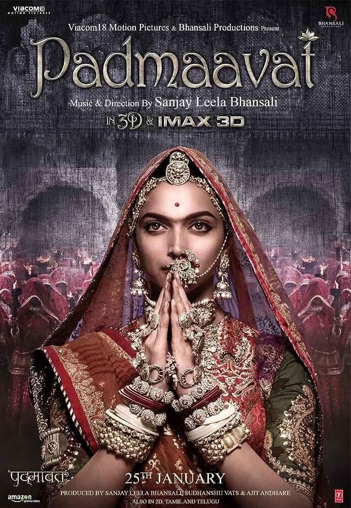 Poster Padmavati 2018 Full HD Movie Download Free 720p