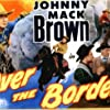 Johnny Mack Brown, Myron Healey, House Peters Jr., and Marshall Reed in Over the Border (1950)
