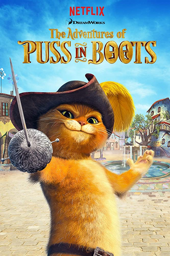 Nonton Puss in Book: Trapped in an Epic Tale (2017) Subtitle Indonesia