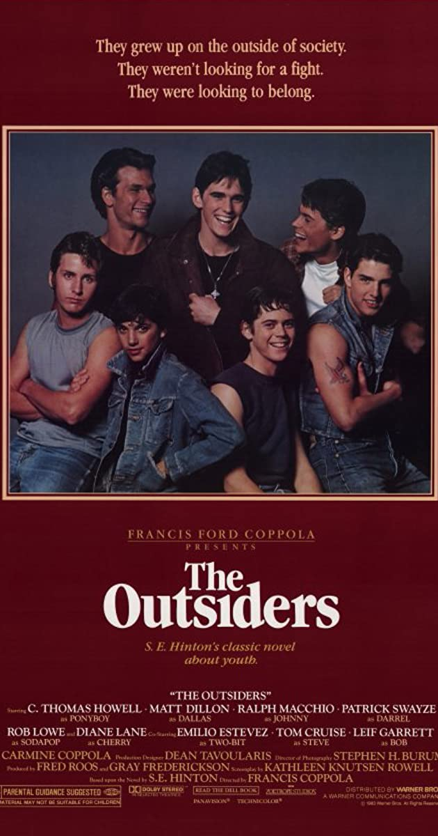 Image result for outsiders movie