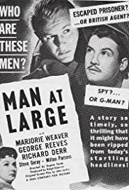 Man at Large Poster