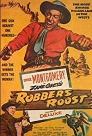 Robbers' Roost (1955) Poster - Movie Forum, Cast, Reviews