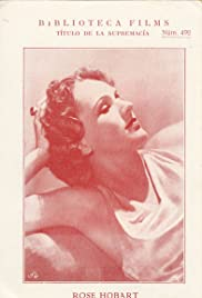 Rose Hobart (1936) Poster - Movie Forum, Cast, Reviews