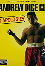 Andrew Dice Clay: No Apologies Poster